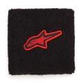 Cadeaux Alpinestars Poignets Eponge Noir Rouge