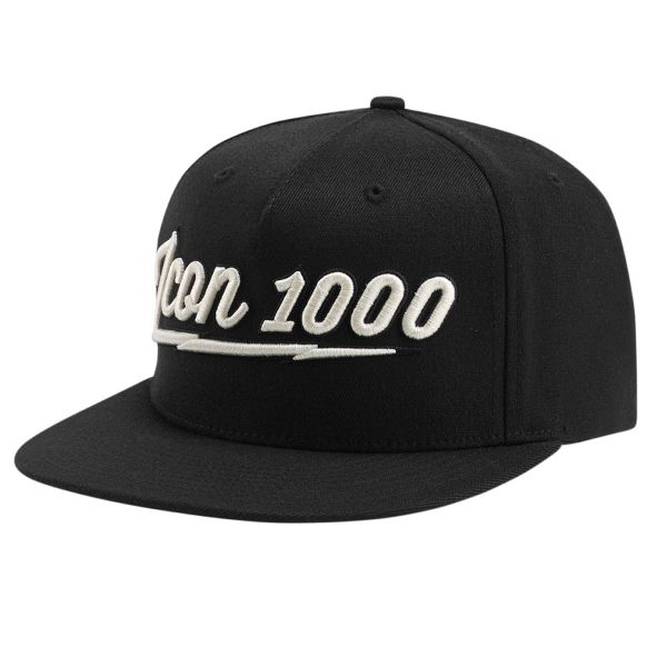 Casquettes Moto ICON 1000 AM Screamer Black