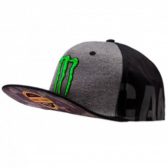 Casquettes Moto VR 46 Cap Adj Replica Monster Black VR46