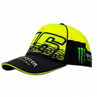 Casquettes Moto VR 46 Cap Replica Monster Fluo Yellow VR46