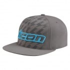 Casquettes Moto ICON Stack Grey