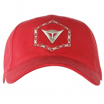 Casquettes Moto Dainese Cap Chain Coral