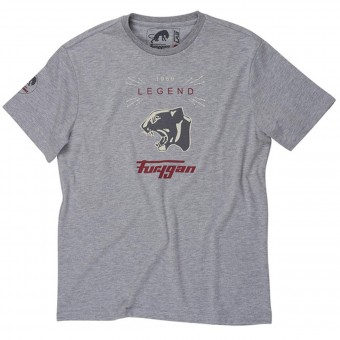 T-Shirts Moto Furygan TS MC Legend Grey