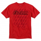 T-Shirts Moto ICON Slanty Town Red