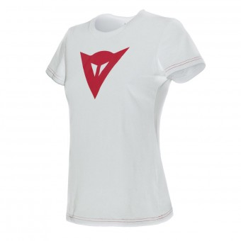 T-Shirts Moto Dainese Speed Demon Lady White Red