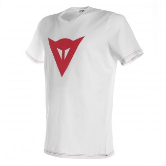 T-Shirts Moto Dainese Speed Demon White Red