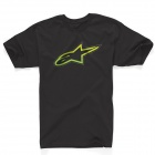 T-Shirts Moto Alpinestars Spencer Noir