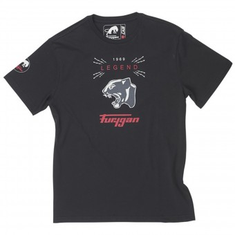 T-Shirts Moto Furygan TS MC Legend Black