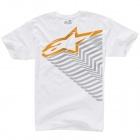 T-Shirts Moto Alpinestars Trails Blanc