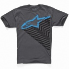 T-Shirts Moto Alpinestars Trails Graphite