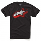 T-Shirts Moto Alpinestars Zeerocks Black