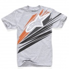 T-Shirts Moto Alpinestars Arrow Gris