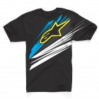 T-Shirts Moto Alpinestars Arrow Noir