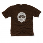 T-Shirts Moto 100% Barstow Glory Chocolate