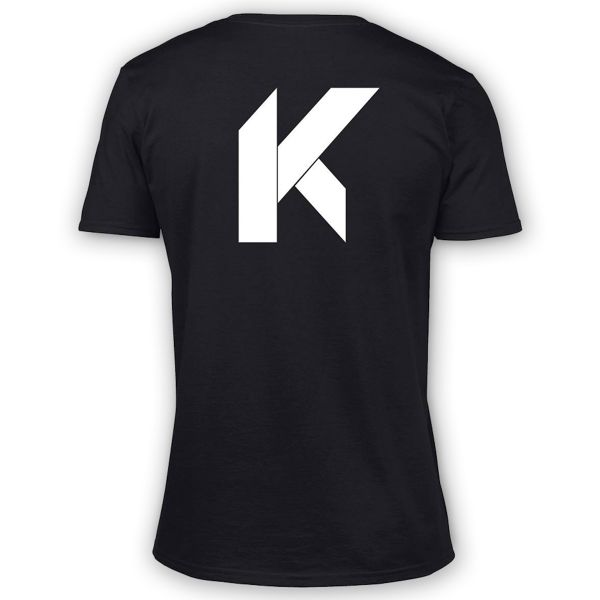 T-Shirts Moto Kikaninac Big K Black