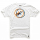 T-Shirts Moto Alpinestars Lucent White