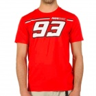 T-Shirts Moto Marquez 93 Marquez 93 Tee Red