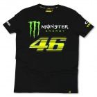 T-Shirts Moto VR 46 Monster Monza Black