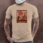 T-Shirts Moto Gaaz Motoriat (Sable)