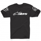 T-Shirts Moto Alpinestars Recognized Noir