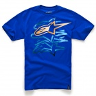 T-Shirts Moto Alpinestars Ronson Royal Blue