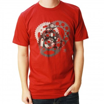 T-Shirts Moto Alpinestars Sprockets Tee Rio Red