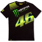 T-Shirts Moto VR 46 T-Shirt 01 Monza Monster Black VR46