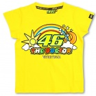 T-Shirts Moto VR 46 T-Shirt Kid Yellow VR46