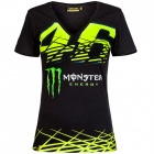 T-Shirts Moto VR 46 T-Shirt Woman Monza Monster VR46