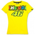 T-Shirts Moto VR 46 T-Shirt Woman Yellow VR46