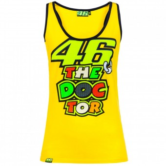 T-Shirts Moto VR 46 Tank Top Woman VR46