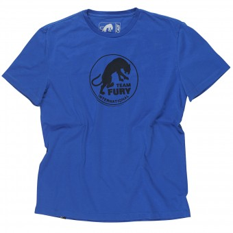 T-Shirts Moto Furygan Team Fury MC Blue