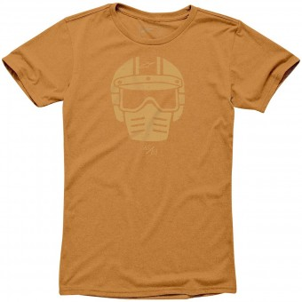 T-Shirts Moto Alpinestars Visor Tee Orange Heather