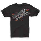 T-Shirts Moto Alpinestars Zipped Black