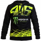 Vestes Moto VR 46 Fleece Monza Monster VR46