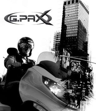 Casque moto gpax