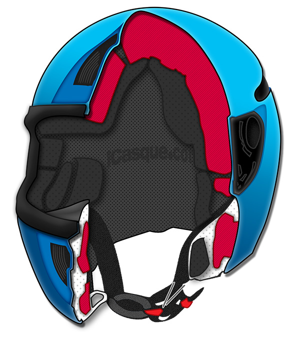 Casque moto taille xs