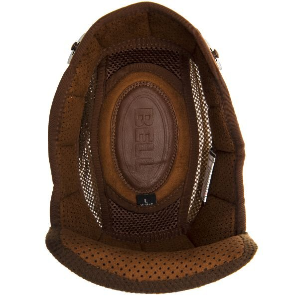 Interieur casque Bell Coiffe Bullitt Marron