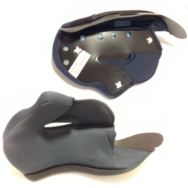 Interieur casque HJC Paire de joues R PHA MAX - Pressions Blanches