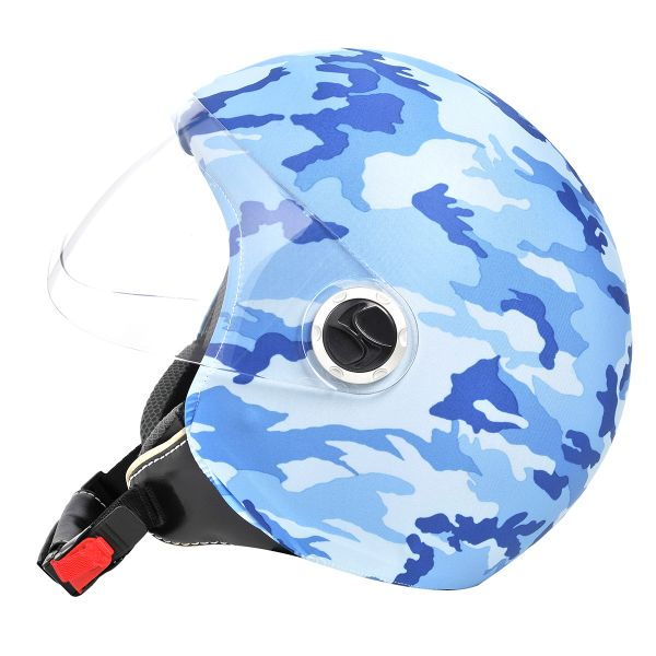 Helmetdress Blue Camouflage