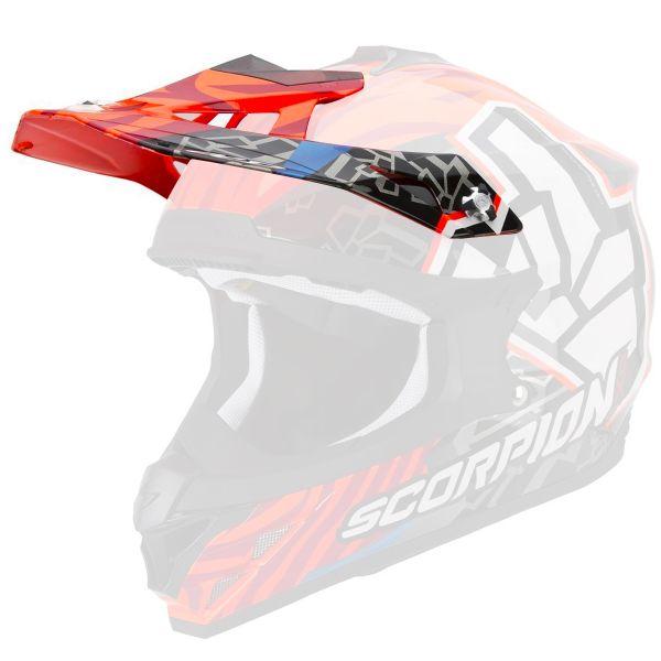 Pièces détachées casque Scorpion Casquette VX-15 Evo Air Rok Bagoros Neon Orange