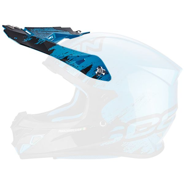 Pièces détachées casque Scorpion Casquette VX-21 Air Mudirt Black Sky Blue