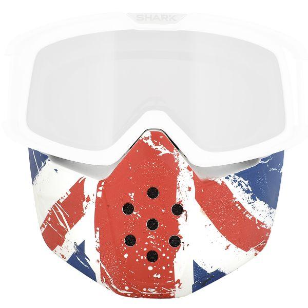 Pièces détachées casque Shark Mask Raw Union Jack