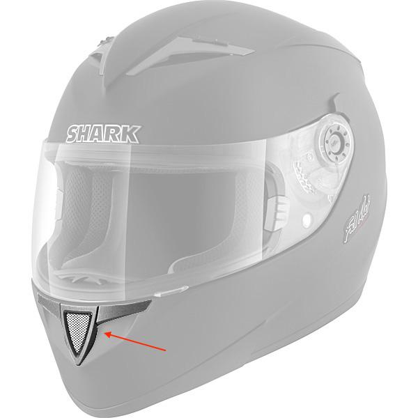 Pièces détachées casque Shark Aeration Menton S700