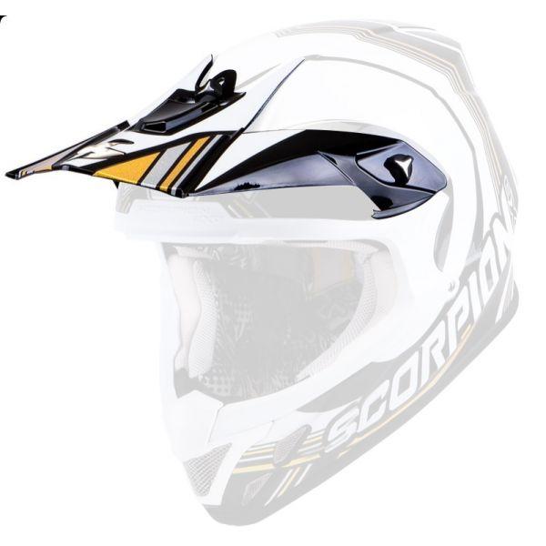 Pièces détachées casque Scorpion Casquette VX-20 Air Spot Noir Blanc