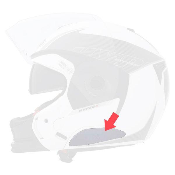 Pièces détachées casque Caberg Kit Capot Bluetooth Blanc Modus - Sintesi - Hyper X