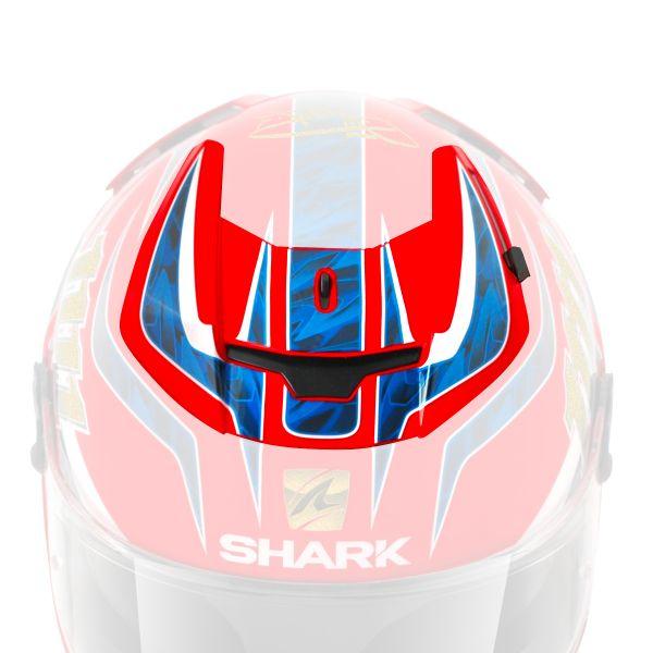 Pièces détachées casque Shark Ventilation Superieure Centrale Speed-R Carl Fogarty