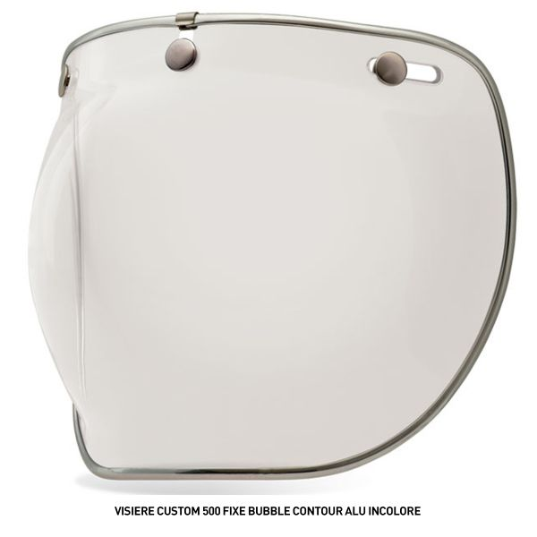 Visiere Bell Visiere Custom 500 Fixe Bubble Contour Alu