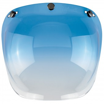 Visiere Biltwell Bubble Shield Gradient Blue