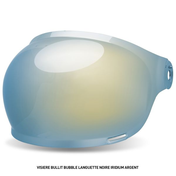 Bell Visiere Bullitt Bubble Languette Noire